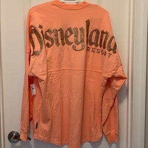 Disneyland rose gold spirit jersey NWT